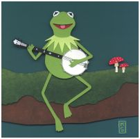 Nerd Love: Kermit the Frog by renton1313