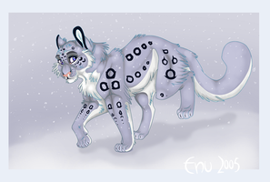 Snow Leopard: Colored by Enu