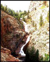 Seven Falls Panoramic by CaspersCreations