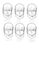 Digital Sketch - Expressions by TheAdrianNelson