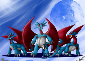 My Salamances x3 by lugavi