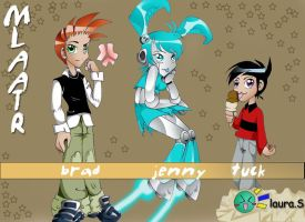my life as a teenage robot by jyr0