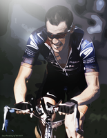 Lance Armstrong by Toti-Gogeta