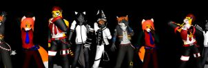 MMD Manry Men? by Nanashione