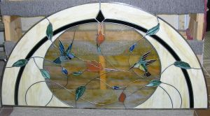 Hummingbird Window by CeltCraft