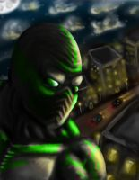 biohazard speed painting by Sevenslashes