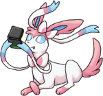 Sylveon - So that's what the ribbons are for. by TheCompleteAnimorph