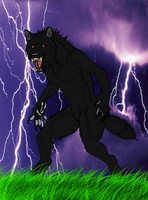 I am the Black Beast of the Storm! by PittheKidIcarus