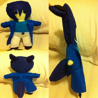 Final Product - Yoru Plushie! :D by Shadow-Rukario