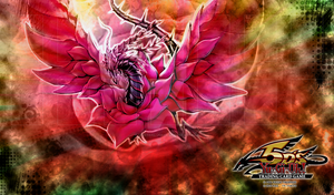 Yugioh Black Rose Dragon Mat by Spectral-Joker