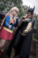 BatGirl and SuperGirl by Lydiaburton17