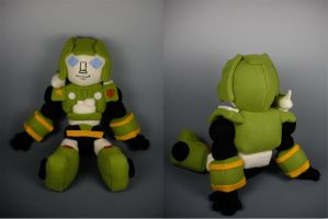 G1 Hound Plushie by WhittyKitty