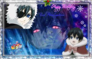 Ciel Birthday Wallpaper by Neon-Cheshire-Cat