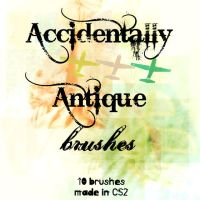 Accidentally Antique Brushes by black-rose-die