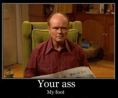 Red Foreman - Demotivational by stebo88
