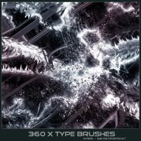 360 X Type Brushes by KeyMoon