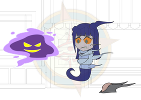 Chibi Chain - Alien Attack - Shriveling by Dragon-FangX
