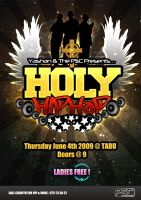 Holy Hiphop Poster by malshan