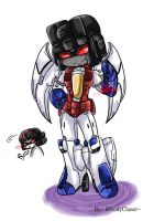 Megatron Origin:- StarScream by BloodyChaser