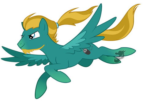 OC - Flying free by Chagial