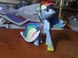 Rainbow Dash Gala Model by FyreWytch