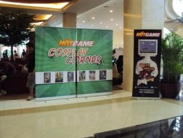 HOTGAME Booth for cosplayer by jjtomcool