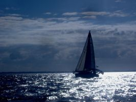 Sailing Though the Clouds by DeloreanREB
