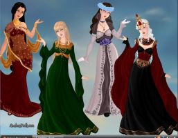 Women of pre-ASOIAF by Dragonryder94