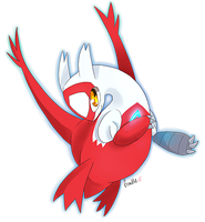 Hoenn Collab - Latias by frandlle