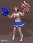 Tina: Cheerleader by SupernovaX2
