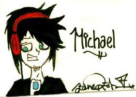 Michael Colored by Zane-The-Mudfish