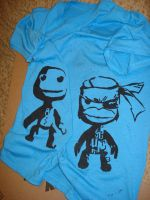 Little Big Planet Shirt - WIP by straight-thugin