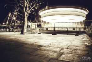 Creepy Carousel by sican