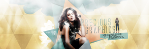 Precious Graphics Header by EmeliaJane