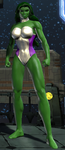 She-Hulk DC Universe Online by GameAndWill