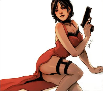 Ada Wong by LMJWorks