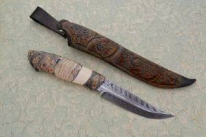 Floral Knife by Messermacher