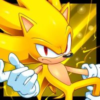 Super Sonic(The Hedgehog invincible) by CristianHarold0000
