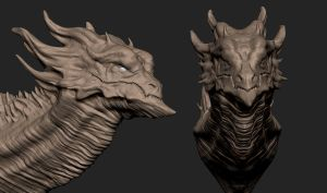 Dragon speedsculpt by synthesys