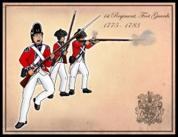 The 1st Foot Guards 1775-1783 by SimonLMoore