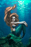 Mermaid by A-Faun
