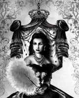 Princess Fawzia by Artist-in-Despair