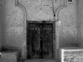 Old gate by zohreh1991