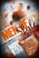 MEN Of Style Flyer by AnotherBcreation