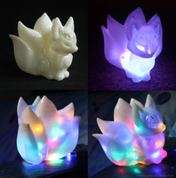 EBAY AUCTION: 3D print Chibi Kitsune PEARL ver. by goiku