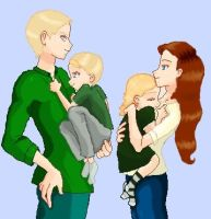 The new Malfoy family V.3 by ElvaAndHamy