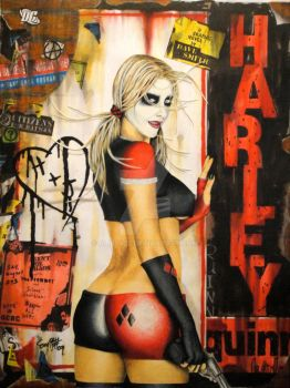 Harley Quinn Graphic Novel by aliby422