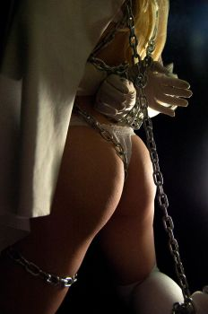 Emma Frost - metal chains fantasy 03 by AcidDaisy