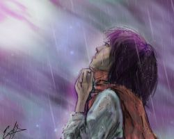 Eren...As long you're there for me... by Konfushou