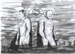 Batman vs. Superman: Dawn of Justice - Comic Style by misslysiak